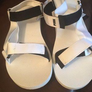Victoria secret white sandals